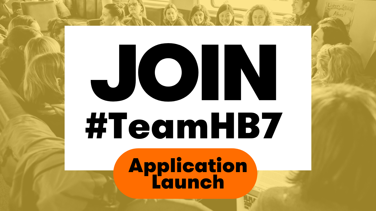 #TeamHB7 - Live Application Launch Event